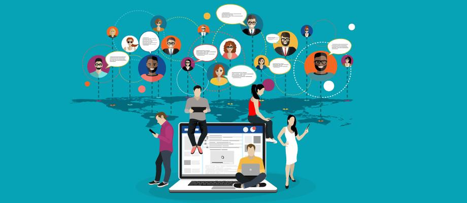 Democratização da mídia online