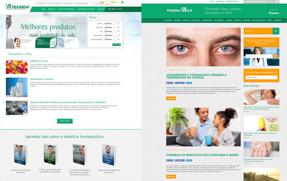 Hipolabor - site e blog