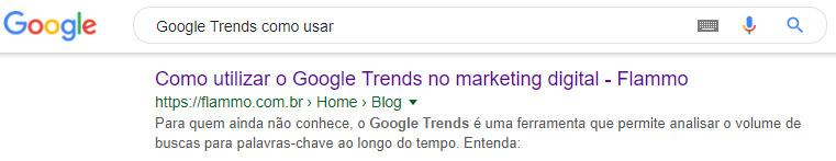 Meta tag title - resultado de busca