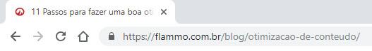 Código - title no navegador