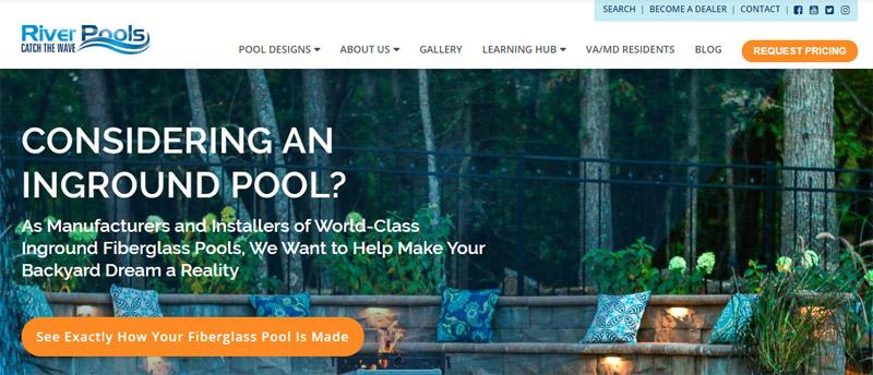 Conteúdo - exemplo River Pools