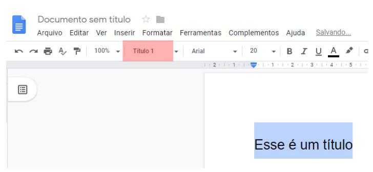 Título editado- Documentos Google