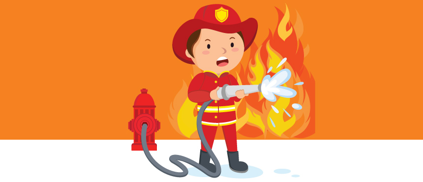 Apagar incêndios não escala